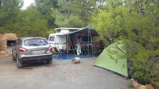 Camping in the Western Cape